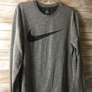 Nike athletic cut Dri Fit long sleeve